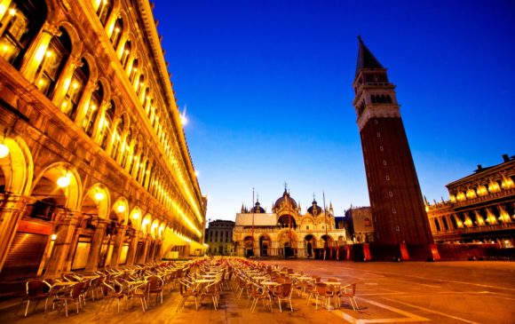 Nightlife Venice Piazza San Marco