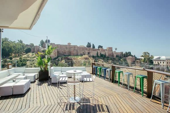 Nightlife Malaga Alcazaba Premium Hostel - Rooftop Terrace
