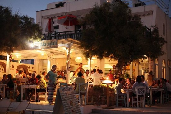 Nightlife Naxos Agia Anna