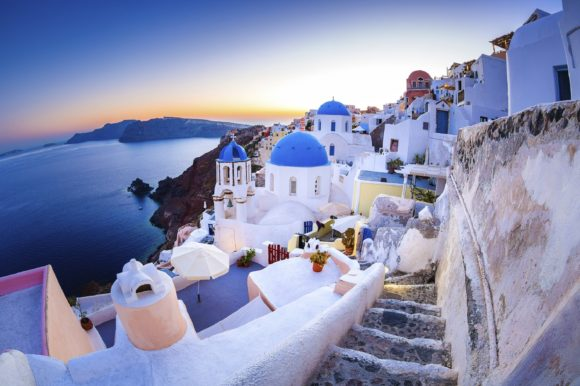 Santorini wonderful destinations