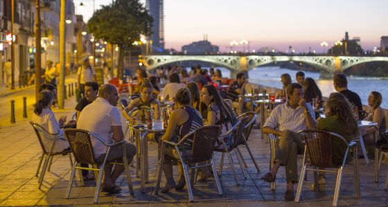 Nightlife Seville Calle Betis