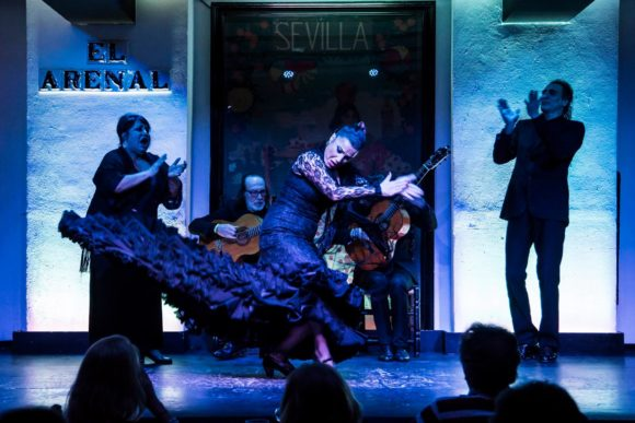 Nightlife Seville Tablao Flamenco El Arenal