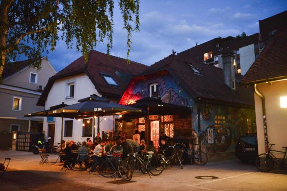 Nightlife Ljubljana Sax Pub