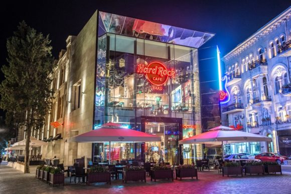 Noite Baku Hard Rock Cafe