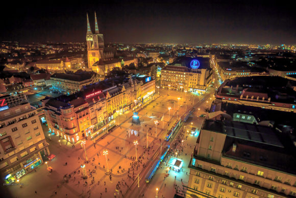 Natteliv Zagreb by night
