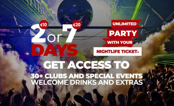 free admission in the best clubs in Amsterdam