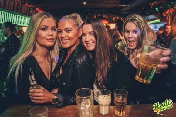 Nightlife Helsinki Heidi's Bier Bar Finnish women
