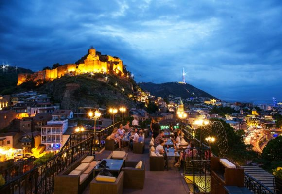 Nightlife Tbilisi Tbilisi Veranda Lounge & Bar