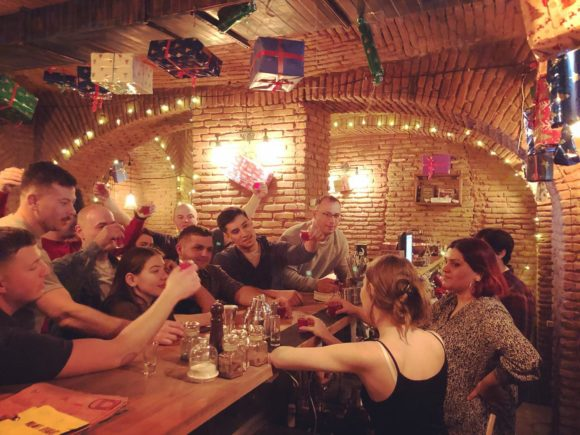 Tbilisi Woland's Speakeasy nightlife